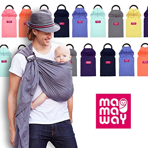 Buy Cheap Mamaway Baby Sling - Vintage Washed-Out - Comfortable for Your Baby - Breastfeeding Privac...