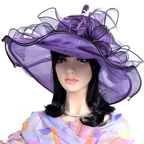 Fanny Lightweight Kentucky Derby Church Dress Wedding Hat #S052