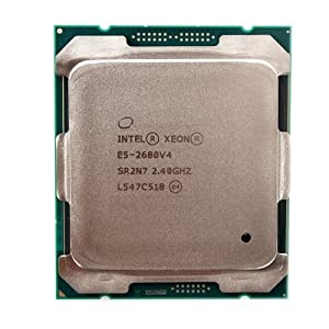 INTEL XEON 14 CORE PROCESSOR E5-2680V4 2.4GHZ 35MB SMART CACHE 9.6 GT/S QPI TDP 120W