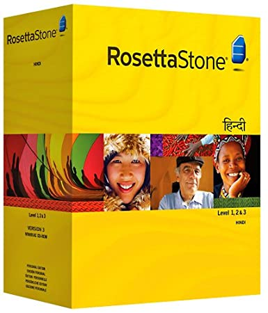 Rosetta Stone Version 3: Hindi  Level 1, 2 and 3 Set with Audio Companion (Mac/PC CD)