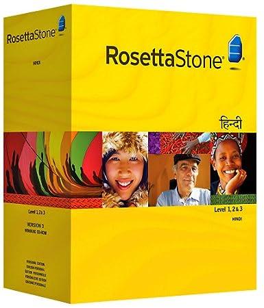 Rosetta Stone Version 3: Hindi  Level 1, 2 and 3 Set with Audio Companion (Mac/PC CD)