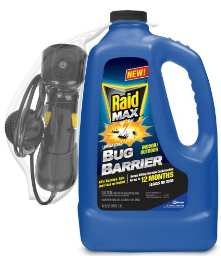 Raid Max Bug Barrier 1/2 Gallon .5-Gallon Bottles (Pack Of 4) front-67083
