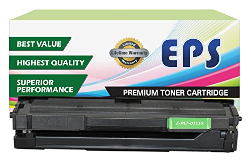 EPS Replacement Toner Cartridge for Samsung MLT-D111S Toner for Samsung Xpress M2022W M2020W M2021W M2070W M2071W Series (Eps Replacement Toner Cartridge compare prices)