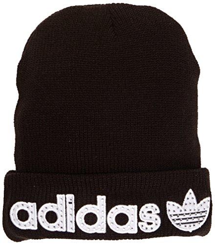 Adidas-Berretto da donna nuovo anno, unisex, New Year, Black, Taglia unica