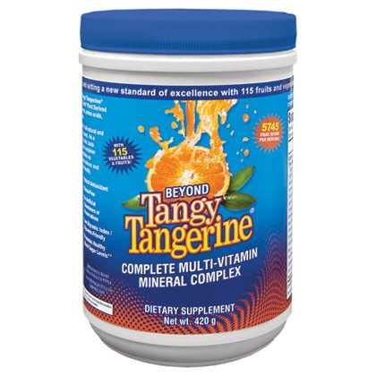 Tangy Tangerine - 420 G Canister - 4 Pack