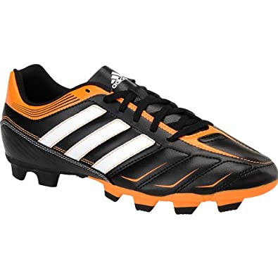 Buy adidas Mens Ezeiro III TRX FG Soccer Cleats - Size: 7.5, Black orange by adidas