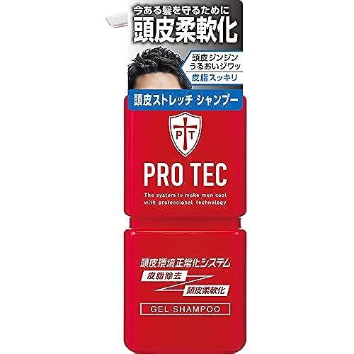 [프로텍헤어케어] PRO TEC(프로 테크) 두피 스트레치 샴푸 펌프 300g