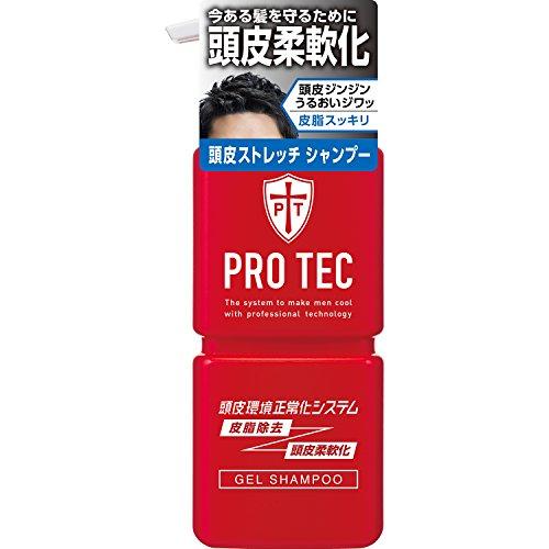 PRO TEC(プロテク) 頭皮ストレッチ シャンプー ポンプ 300g (医薬部外品)