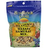 Sunridge Farms Wasabi Samurai Mix, 5.5-Ounce Bags (Pack of 12) ~ SunRidge Farms