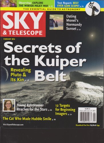 Sky & Telescope Magazine February 2014