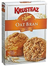Krusteaz, Oat Bran, Muffin Mix, 14oz Box (Pack of 3)