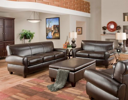Abilene Furniture Set - Dark Chocolate