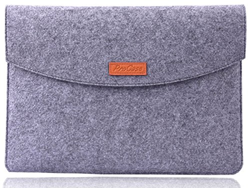 "Great Deal! ProCase 9.7 - 10.1 Inch Sleeve Case, 9.7"" Apple iPad Pro/ iPad Air 2/ iPad Air Felt..."