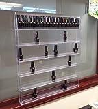 Beauticom Professional Acrylic Nail Polish Wall Rack Display (Holds up to 96 Bottles)