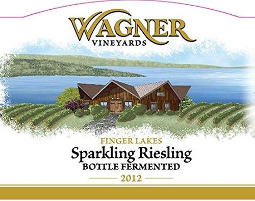 2012 Wagner Vineyards Finger Lakes Brut Sparkling Riesling 750 Ml