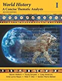 img - for World History: A Concise Thematic Analysis, Volume One book / textbook / text book
