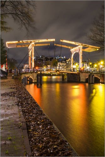 wood-print-40-x-60-cm-the-amstel-river-in-amsterdam-by-kees-krick