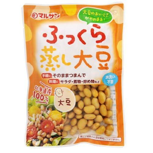 マルサン ふっくら蒸し大豆 100g×10個