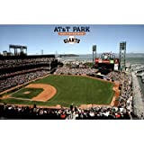 San Francisco Giants AT&T Park 22x34 POSTER Sports Poster Print, 34x22