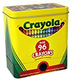 The Tin Box Company 181007-12 Crayola 2-Piece Storage Tin with Sharpener Toy
