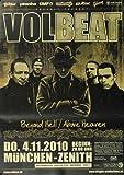 Poster - Volbeat - Beyond Hell 2010 - Konzert Plakat / Poster von Volbeat