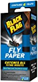 Black Flag Fly Paper Insect Trap