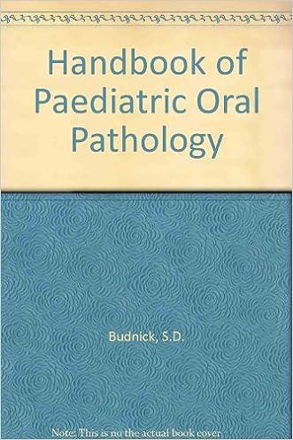 Handbook of Pediatric Oral Pathology