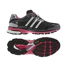 New Adidas Women's Supernova Glide 5 ATR Running Shoes Black/Pink 10