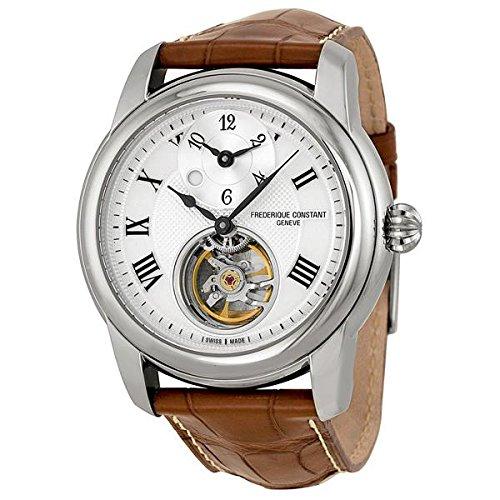 Frederique Constant FC-938MC4H6 - Correa para reloj, piel, color marrón