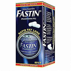 Otc Fastin Weight Loss Pills - 60 Caplets Tablets This Is Not The Same As Prescription Fastin by Fastin