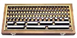 Grade 0 Individual Calibration Slip Gauge (Set of 8 pcs)