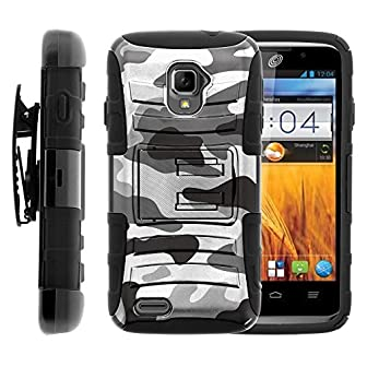 Armor Case Combo Set   You are looking at a Rugged Armor Case Combo Set designed to specifically fit the ZTE Rapido Z932L from Straight Talk.   *****NOTE****** This case WILL NOT fit any other ZTE handheld devices.   What you get:  Look great and fee...