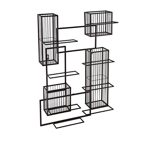 Southern Enterprises Holly And Martin Wisegrid Wine And Cork Wall Cage