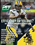 img - for 2015 Pro Football Focus Fantasy Draft Guide book / textbook / text book