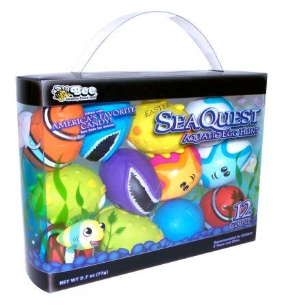 Sea Quest Aquatic Easter Eggs Filled with Candy