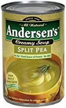 Progresso B82239 Andersons Split Pea Soup No Fat Can - 12x15Oz