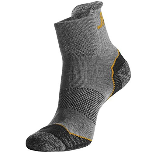snickers-92000700042-coolmax-chaussettes-basses-taille-40-42-cendre-gris