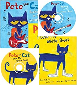 Pete The Cat Cd I Love My White Shoes