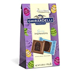 Ghirardelli Spring Impressions Milk and Dark, 4.58 Ounce