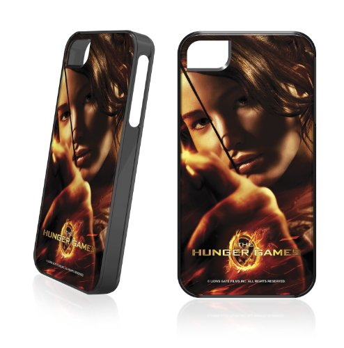 Skinit The Hunger Game -Katniss Bow & Arrow for LeNu Case for Apple iPhone 4 / 4S