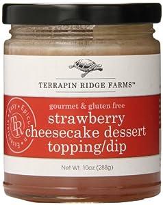 Terrapin Ridge Farms Dessert Topping Dip, Strawberry Cheesecake, 10 Ounce