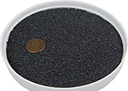 Black Fine Gravel 20 lbs - Safe for Sandboxes, Substrate and Landscaping