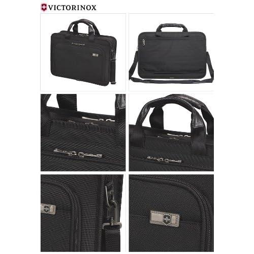 [ビクトリノックス] VICTORINOX ルーブル17 ブリーフケース 17インチPC収納可能(ブラック) 31321701 並行輸入品