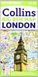 Collins Maps London Big Ben Map