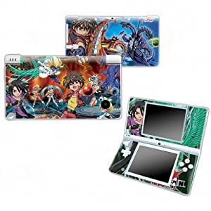 BAKUGAN Design Nintendo DSI NDSI DSi NDSi Vinyl Skin Decal Cover Sticker Protector (Matte Finish)+ Free Screen Protector