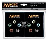 Magic the Gathering Mana Symbol 80 Ct. Deck Protector Sleeves