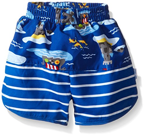 I pantaloncini-Pannolino da nuoto, confezione da 6 a 12 mesi, motivo: Royal Viking mare)