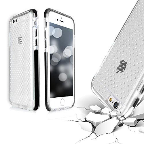 iPhone7 Plus ケース アイフォン7 プラス ケース, Fyy® [耐衝撃スリム] [ミリタリーグレード素材] 軽量 ソフトケース ソフト シリコーン ゲル ゴム 耐衝撃カバー 高耐久性 傷つけ防止 手触り良い 保護シェル 携帯便利 スマートフォンケース ブラック