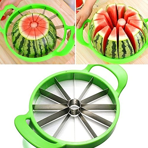 Bluelover Melon pastèque melon trancheuse coupe de 21cm inox