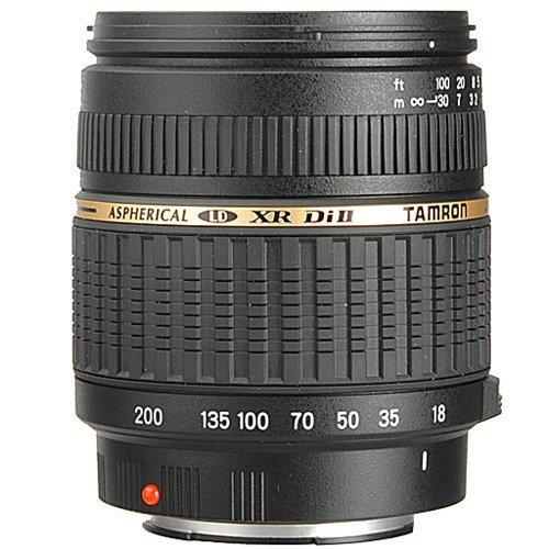 Tamron AF 18-200mm F/3.5-6.3 XR Di II LD Aspherical [IF] Macro Lens for Nikon